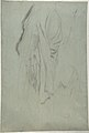 Study for Vieille Italienne(recto); Drapery Study (verso) MET DP810343.jpg