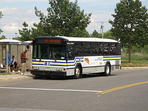 Suffolk County Transit - Image: Suffolk Transit Gillig 5008
