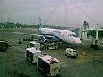 Sukhoi SuperJet 100-95B at GDL.jpg