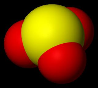 Sulfite anion