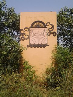 Sun clock inside the Garden of Five Senses.jpg
