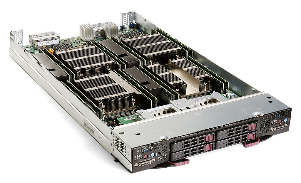 Supermicro SBI-7228R-T2X blade server