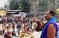 Supriya Kumar Roy addressing a crowd.jpg
