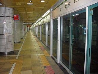 Suraksan station - Image: Suraksan Station Platform