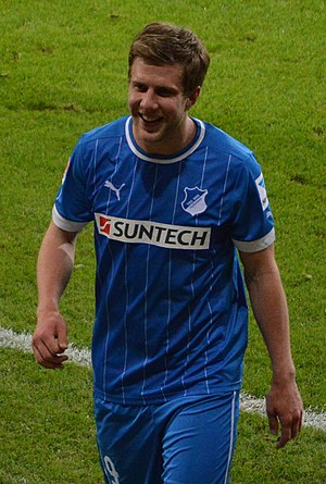 Sven Schipplock - Schipplock playing for Hoffenheim in 2013