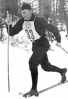 Sverre Stenersen Norwegian Nordic combined skier
