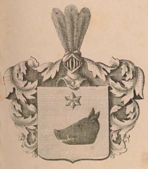 Pehr Evind Svinhufvud - Svinhufvud's family arms