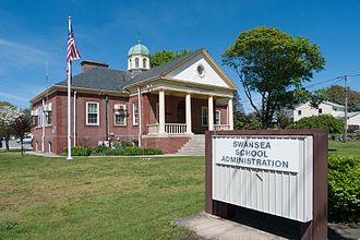 Swansea, Massachusetts - Swansea School Administration building, Main Street and Hortonville Road.