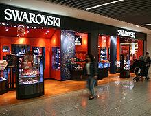 0a6231de5fbb Tienda de Swarovski en Fráncfort del Meno.