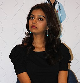 Swati at TeachAIDS launch in 2010