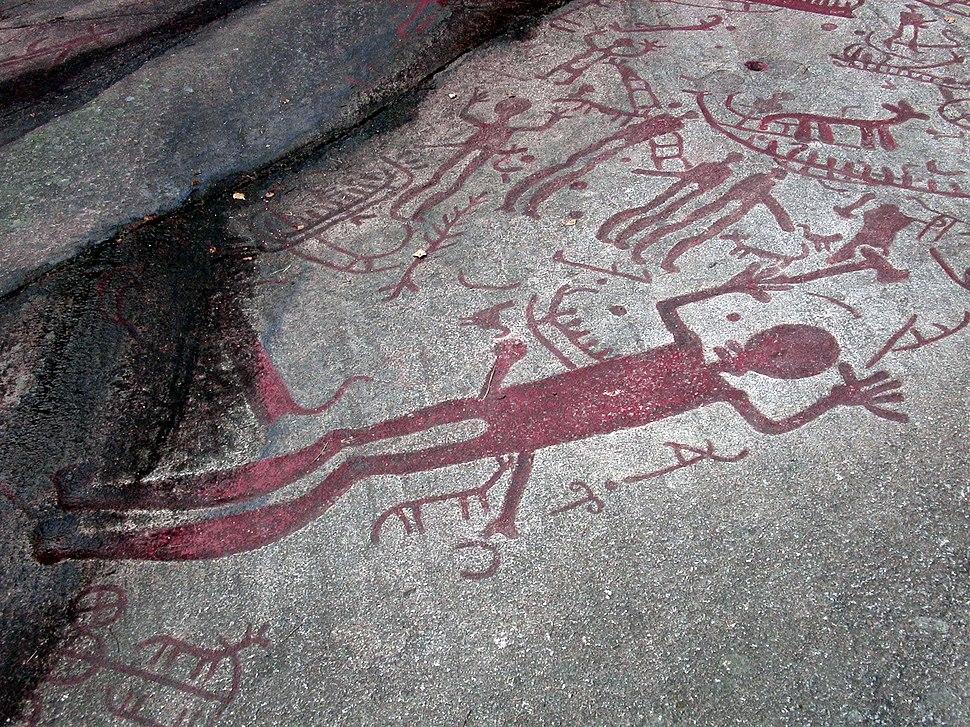 Sweden-Brastad-Petroglyph Skomakaren-Aug 2003