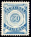 Switzerland Adlisweil 1906 revenue 60c - 4.jpg