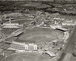 1975 Rugby League World Cup - Image: Sydney Showground and Cricket Ground 1936 (14019783946)