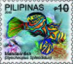 Synchiropus splendidus 2010 stamp of the Philippines.jpg