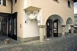 Třebíč - The entrance of the Jewish quarter