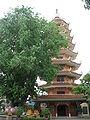 Tịnh Xá Trung Tâm, bảo tháp Ngọc Phật.JPG