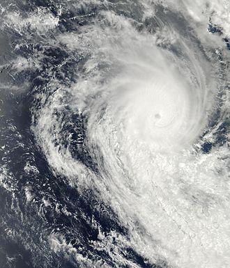2002–03 South Pacific cyclone season - Image: TC Beni 29 jan 2003 0315Z