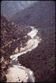 THIS AREA OF THE KINGS RIVER WOULD BE MADE INTO A LAKE IF THE PROPOSED DAM IS CONSTRUCTED - NARA - 542701.tif