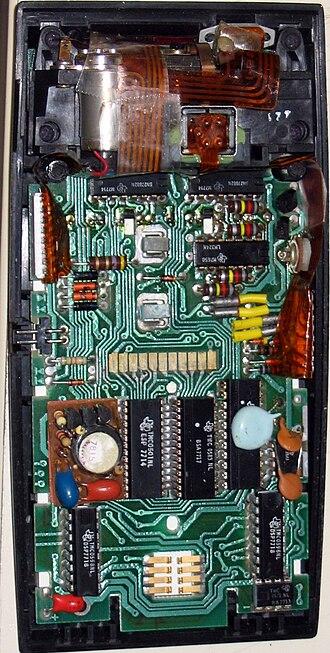 TI-59 / TI-58 - TI-59 main circuit board