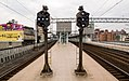 TRA 3-lamps trains dispatching light at Xizhi Station 20140602b.jpg