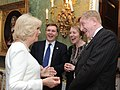 TRHs at Hillsborough Castle reception (13604610473).jpg