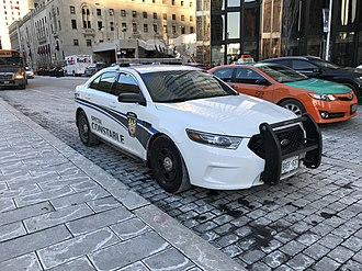 Special constable - Service vehicle for the Transit Enforcement Unit,  an authorized special constable service of the Toronto Police Services Board.