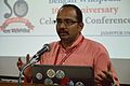 T Vishnu Vardhan - Panel Discussion - Collaboration with Academic Institutes for the Growth of Wikimedia Projects in Indian Languages - Bengali Wikipedia 10th Anniversary Celebration - Jadavpur University - Kolkata 2015-01-10 3416.JPG