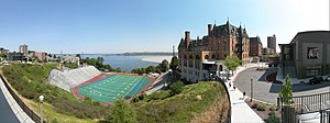 Stadium High School - Image: Tacoma Stadium High School pano 01