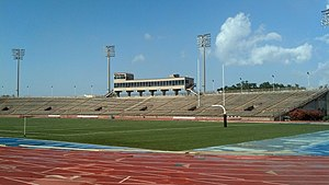 Tad Gormley Stadium - Image: Tad Gormley Stadium (New Orleans, LA) Away Grandstand