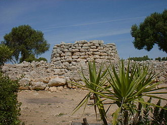 Mallorca - Example of prehistoric talaiot in Majorca