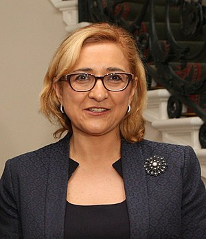 Tamar Beruchashvili - Image: Tamar Beruchashvili (cropped)
