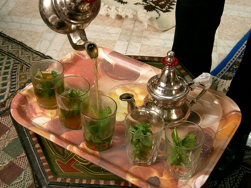 ملف:Tangier Mint Tea.JPG