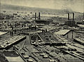 Tarbell 1904 Fleet of Oil Boats at Oil City 1864.jpg