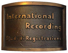 The International Recording