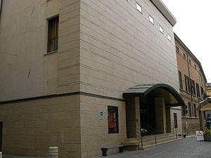 Diego Fabbri - The Theater Diego Fabbri in Forlì.