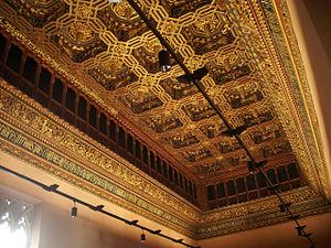 Techumbre palacio reyes catolicos aljaferia