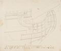 Teckning - Galjon på en ostindiefarare - Fredrik Henrik af Chapman - SB 1390.tif