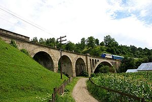 Viaduct la Telciu