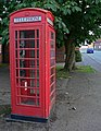Telephone box along The Sands - geograph.org.uk - 959609.jpg
