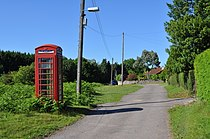 Telephone kiosk at Oldcroft - geograph.org.uk - 1916952.jpg