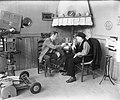 Televisie VARA herdenking April-Mei-staking Johan Elsensohn en Rijk de Gooyer…, Bestanddeelnr 905-6816.jpg