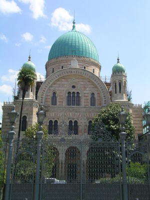 Religion in Italy - The Great Synagogue, Florence