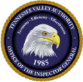 Tennessee Valley Authority Office of Inspector General Seal (USA).png