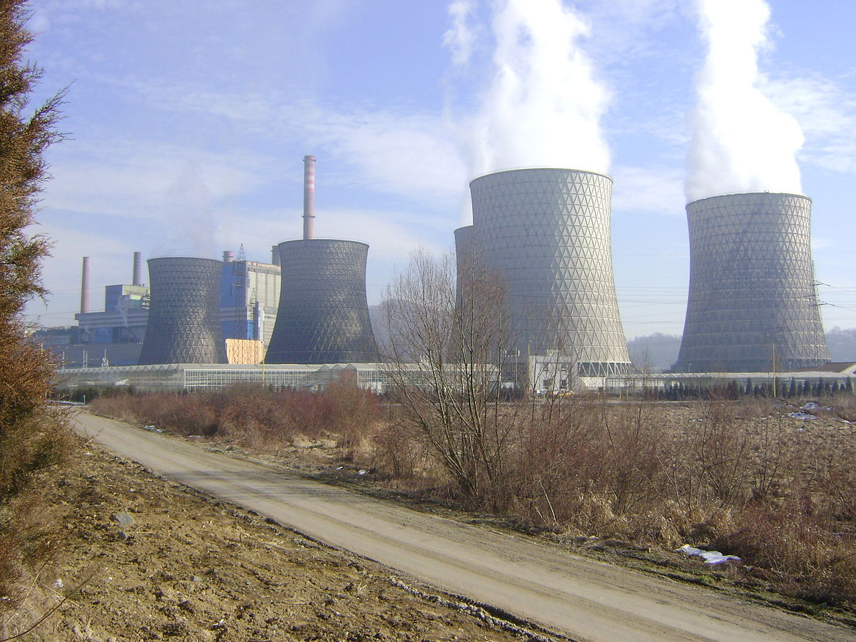 Thermal Power Station : Tuzla thermal power plant wikipedia