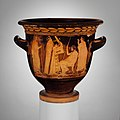 Terracotta bell-krater (bowl for mixing wine and water) MET DP115681.jpg