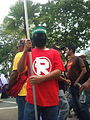 Terrorist in the PUR 2013 Rally.jpg
