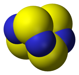 Inorganic chemistry - Tetrasulfur tetranitride, S4N4, is a main group compound that continues to intrigue chemists