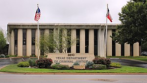 Texas Department of Criminal Justice - TDCJ offices in Austin