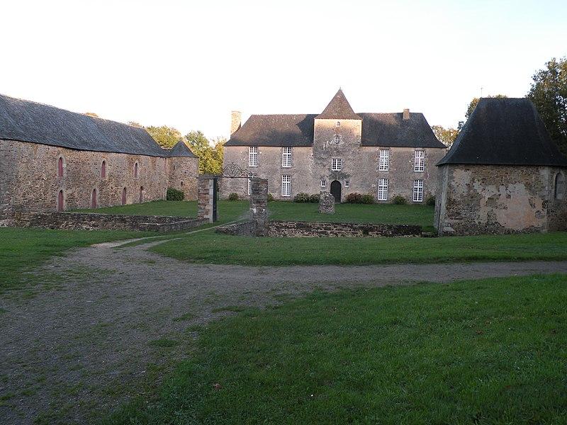 Le manoir de la Cour à Théhillac.