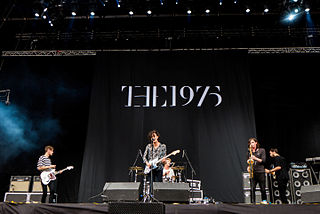 The 1975 English indie pop band